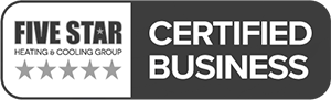 Five Star Heating & Cooling Group Certified Business